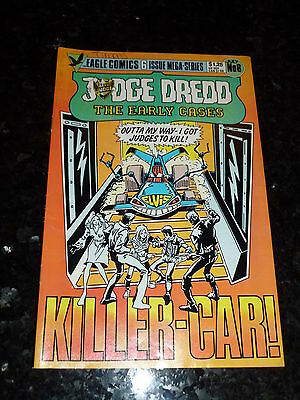 JUDGE DREDD Comic - The Early Cases - No 6 - Date 07/1986 - UK Eagle Comic