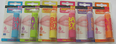 Maybelline Baby Lips Moisturising Lip Balm - Choose Your Flavour