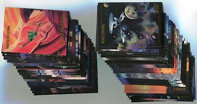 STAR TREK Master Series One 1993 Base Card LOT NM/M!!! 117 Cards SKYBOX
