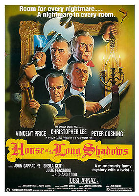 House of the Long Shadows (1983) - A1/A2 Poster *BUY ANY 2 AND GET 1 FREE OFFER*