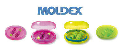 Moldex Reuseable Earplugs - Choose From Rockets or Comets - Corded or Uncorded