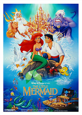 The Little Mermaid (1989) - A1/A2 Poster **BUY ANY 2 AND GET 1 FREE OFFER**