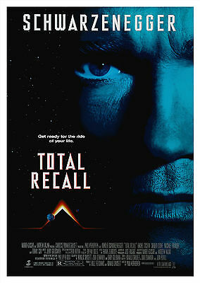 Total Recall (1990) - A1/A2 Poster **BUY ANY 2 AND GET 1 FREE OFFER**
