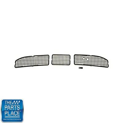 1968-72 GM A Body With A/C Firewall Cowl Vent Grille Screens- 4 Pieces