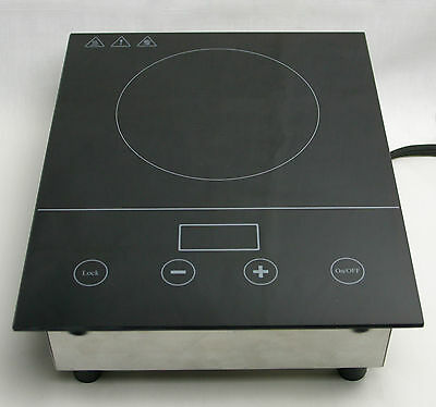 DIGITAL HOTPLATE w/ GLASS TOP