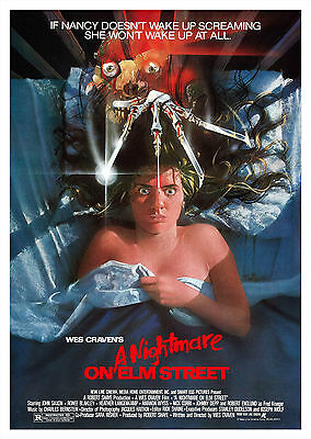 A Nightmare on Elm Street (1984) V2 - A1/A2 Poster **BUY ANY 2 AND GET 1 FREE**
