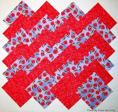 """24 5/"""" DAYBREAK Fabric Quilt Squares Quilting Coral Roses Rose Floral Cotton Kit"""