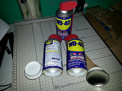 3 WD 40 lube can safes stash hidden diversion hide cash jewelry money safe