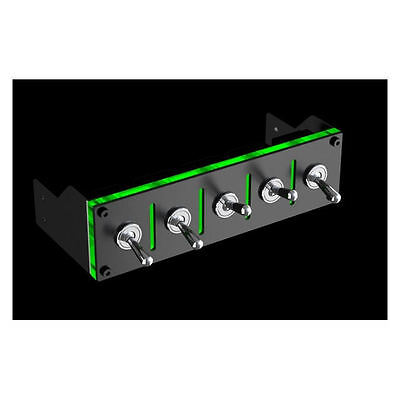 Lamptron Hummer 5ch (100W/ch) Military Switch Baybus, Black/Green