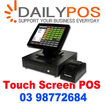 Complete Touch Screen Point of Sale System POS software Hospitality Retail