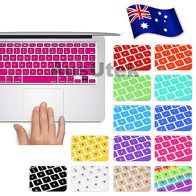 "Silicone Keyboard Cover Skin For MacBook Pro 13.3"" 15.4"" 17"" AIR 11"" 13"" 12"""