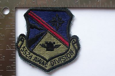 USAF 552d AWAC DIVISION  PATCH (A-1)