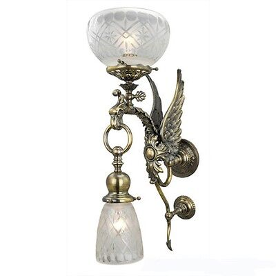 Victorian Style Phoenix Bird Wall Sconces Mythical Figural Lights (288-AGE-ES)