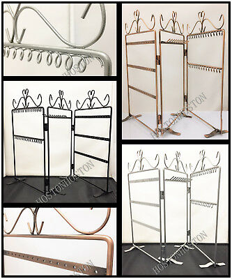 48 Earring 12 Necklace 28 Key Holder Jewellery Display Stand Organiser Hanger