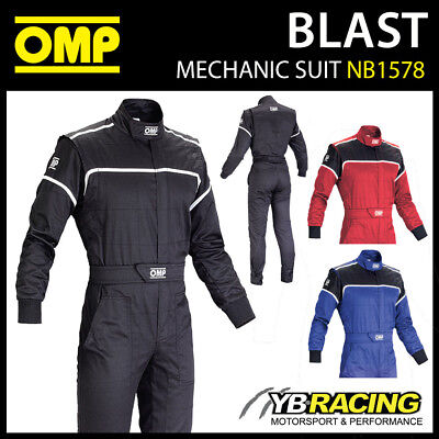 New! Nb/1578 Omp Blast Super Resistant Mechanic Pit Crew Suit - 3 Colours!