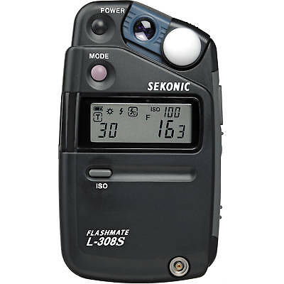 Express Ship New Sekonic L-308S L308S Flash Meter Del Medidor Ce Europe Version