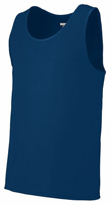Augusta Sportswear Mens Moisture WickIng Polyester Sleeveless Training Tank. 703