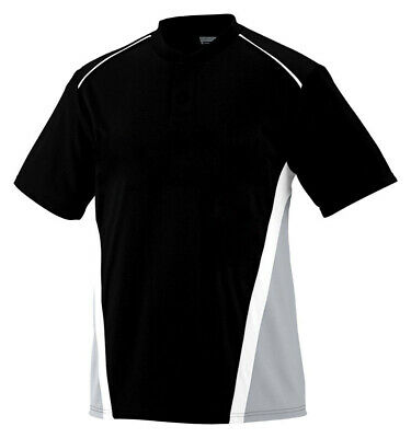 Augusta Sportswear Men's Moisture Wicking Short Sleeve Jersey T-Shirt. 1525