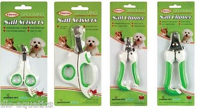 Dog & Cat Claw Clippers Pet Grooming Nail Scissors Choose from 4 Sizes