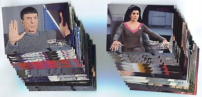 STAR TREK: THE NEXT GENERATION 1996 Season 5 Card LOT!!! NM/M 128 Cards