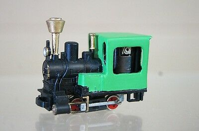 EGGER BAHN 009 HOe GAUGE KIT BUILT 0-4-0 GREEN LOCO NICE qc