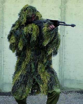 Ghillieparka Fadenghillie Tarnung Sniper Ghillie Paintball Anti Fire