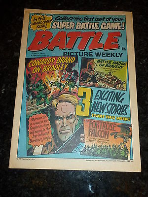BATTLE PICTURE WEEKLY Comic - Date 31/05/1975 - UK Paper Comic