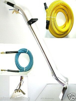 "Carpet Cleaning - 12"" 2-Jet Wand 1 1/2"" Vacuum hose Yellow"
