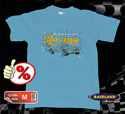 Vintage Retro Racing T-Shirt Ford GT40 Le Mans Legend, Gr./size M, NEW OVP %