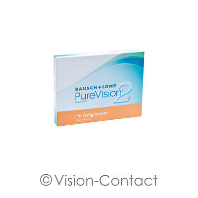Bausch + Lomb - PureVision 2 for Astigmatism - 3er Box