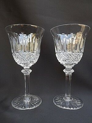 French Antique St Louis Two Crystal Wine Glass Tommy