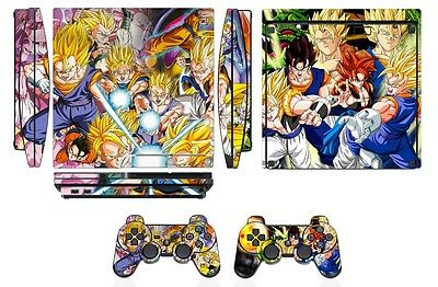 Video Game Accessories Active Dbz Dragon Ball Z Anime Son Goku Vegeta Skin Sticker Decal Protector For Ps3 Fat