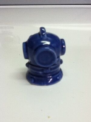 Blue nautical divers mask mini figurine NEW