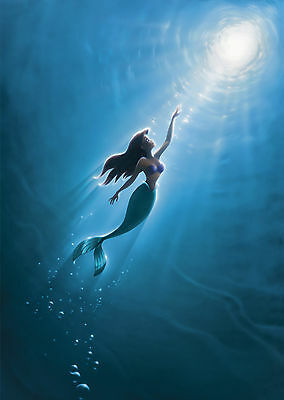 Little Mermaid (1989) V5 - A1/A2 Poster **BUY ANY 2 AND GET 1 FREE OFFER**