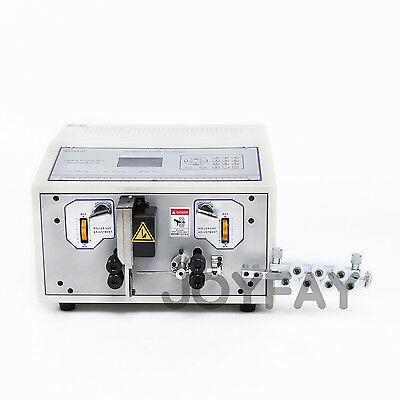 110V Automatic Computer Wire Peeling Stripping Cutting Machine 0.1-8 mm2