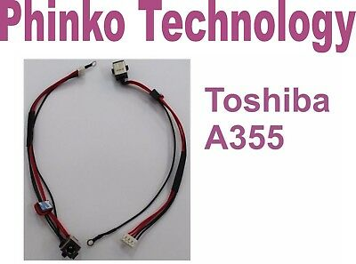 Brand New DC Power Jack for Toshiba Satellite A355 A355D A350 Pro