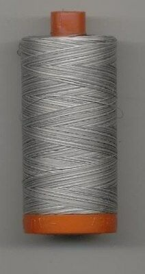 New AURIFIL Large Spool Thread-4670 Silver Fox VARIEGATED 50 wt 1422 yds