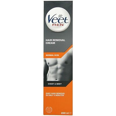 Veet for Men Hair Removal Creme 200 ml BUY MORE QTY FOR BIGGER SAVING