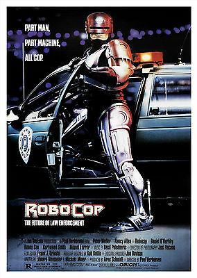 Robocop (1987) - A1/A2 POSTER **BUY ANY 2 AND GET 1 FREE OFFER**