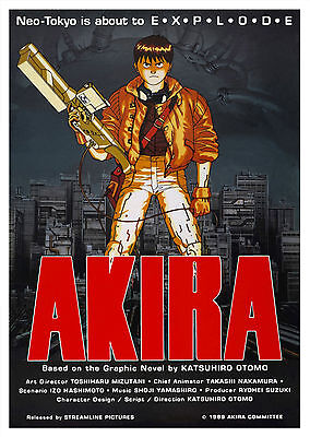 Akira (1988) - A1/A2 Poster **BUY ANY 2 AND GET 1 FREE OFFER**