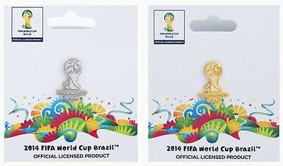 Brazil 2014 World Cup Badges Pins Official Licensed Product