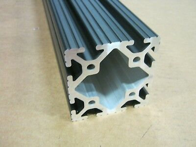 8020 Inc 3 x 3 T-Slot Aluminum Extrusion 15 Series 3030 x 24 Black H1-3