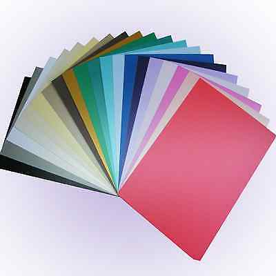 Pearl Shimmer Card A4 - NEW colours Single Sided Pearlescent Pearised Craft Card