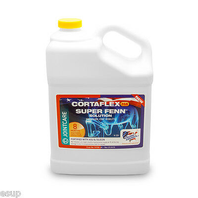 Equine Cortaflex HA Solution + Super Fenn (4ltr) - 8 Months Supply