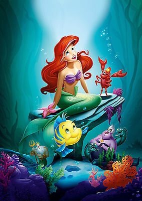 The Little Mermaid (1989) V4 - A1/A2 Poster **BUY ANY 2 AND GET 1 FREE OFFER**