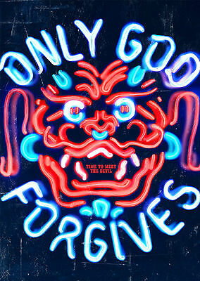 Only God Forgives (2013) - A1/A2 Poster **BUY ANY 2 AND GET 1 FREE OFFER**