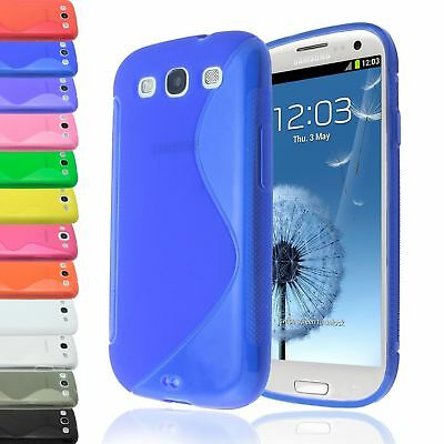 S-Line Translucent Clear Tpu Gel Case Back Cover For Samsung Galaxy Siii S3 9300