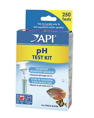 FREE SHIPPING API FRESHWATER MINI PH Test Kit Fish Plant Aquarium Fresh Water