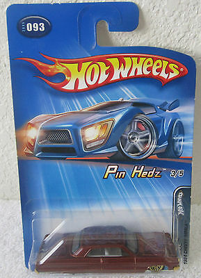 2005 Pin Hedz Series 1964 Chevy Impala Hot Wheels #3 Collector #93