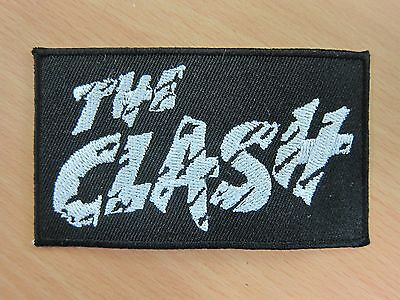 The Clash embroidered Iron on Patch High Quality Shirt Bag Cap Towel